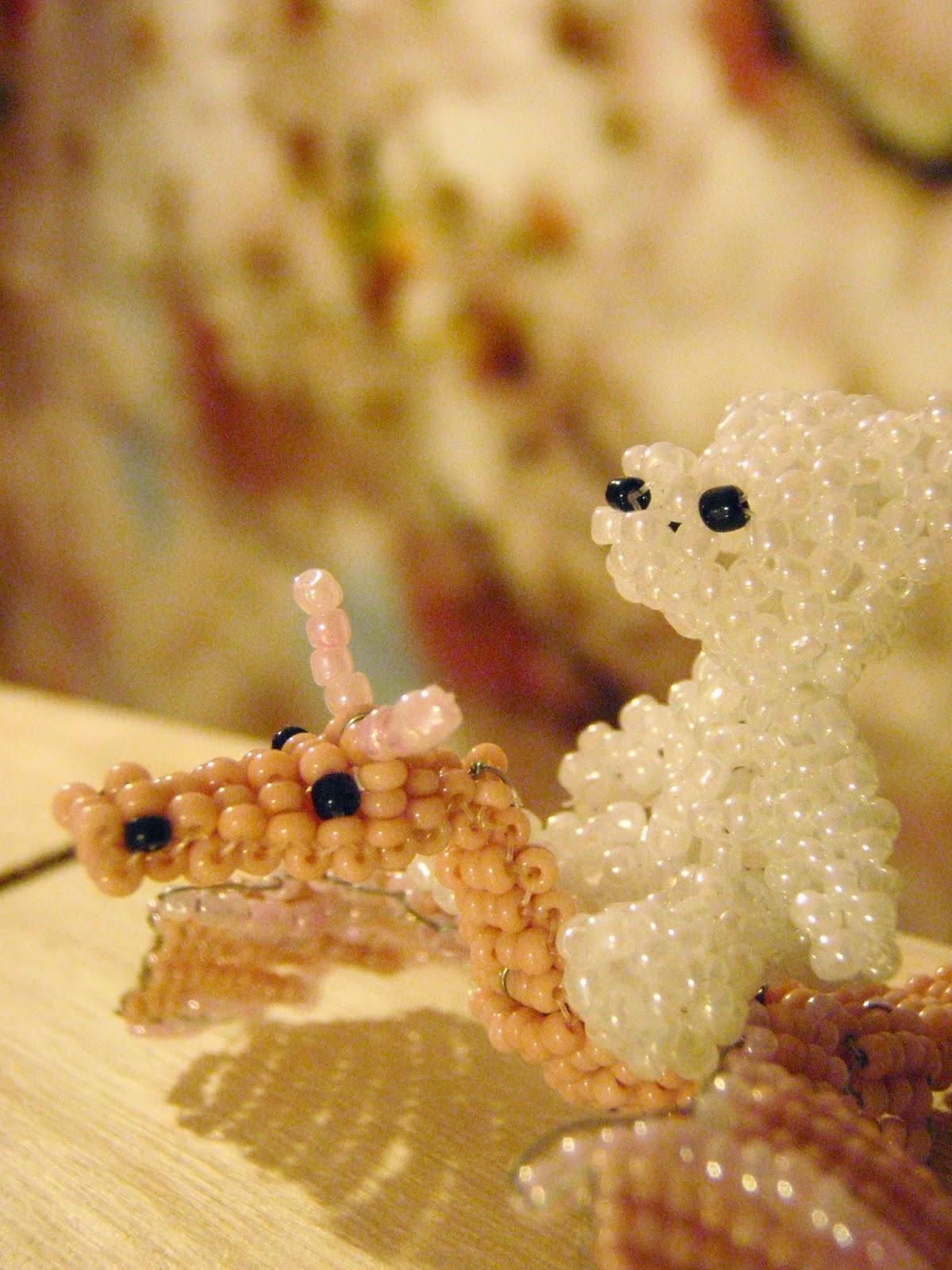 zwierzątka z koralików