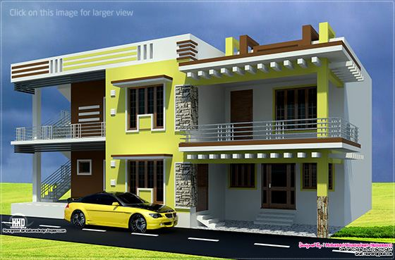 February 2013 kerala home design and floor plans for Middle class house plans with photos