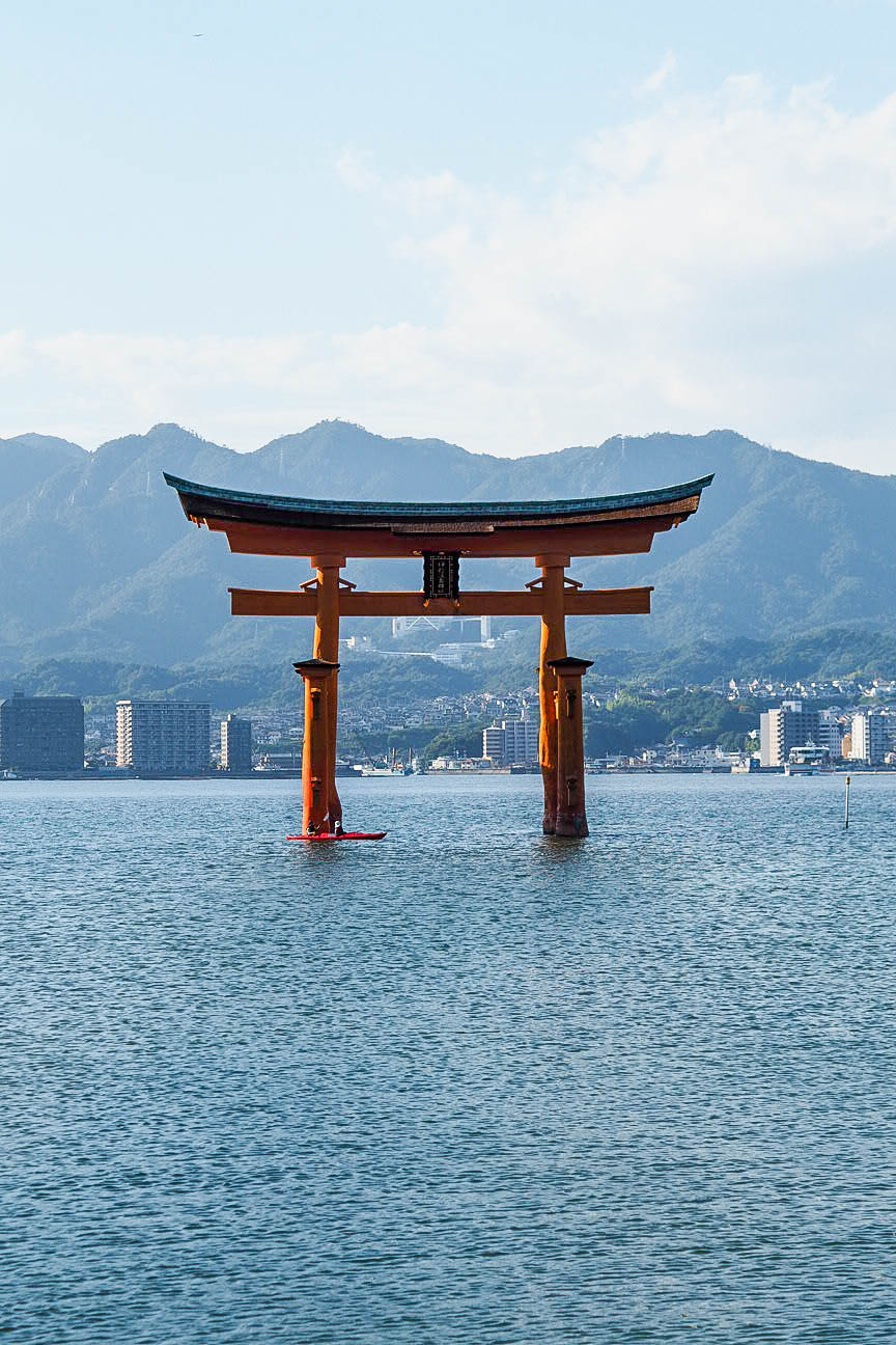 Floating Torii Gate of Miyajima, Japan