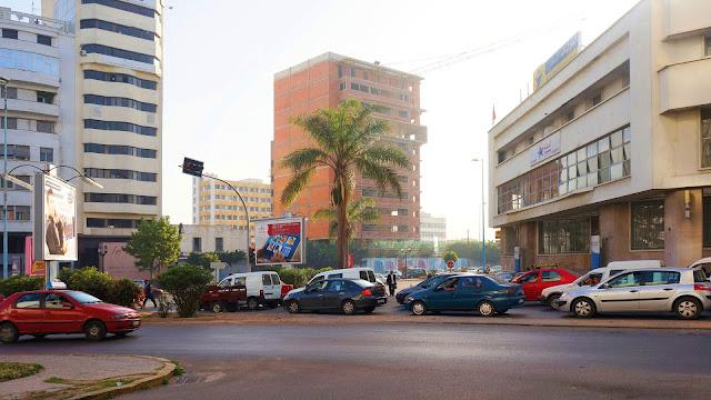 Изображение улиц в Касабланке, Марокко