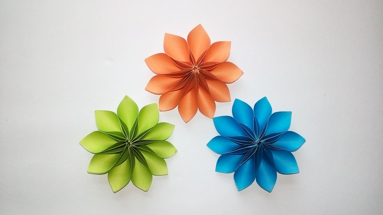 Easy Paper Origami Diy How To Make Easy Beautiful Flower With
