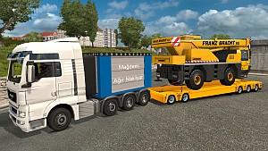 MAN Tandem + Heavy Load trailer