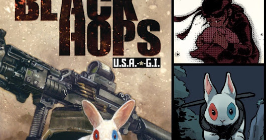 Issue #1 of my new miniseries, Black Hops: U.S.A.-G.I., for sale NOW!