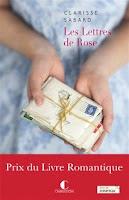 Les lettres de Rose Clarisse Sabard Charleston Prix Romantique 2016