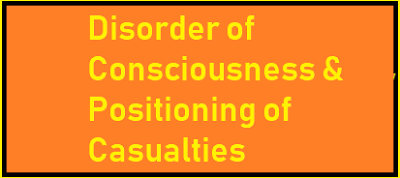 Disorder of Consciousness and Positioning of Casualties