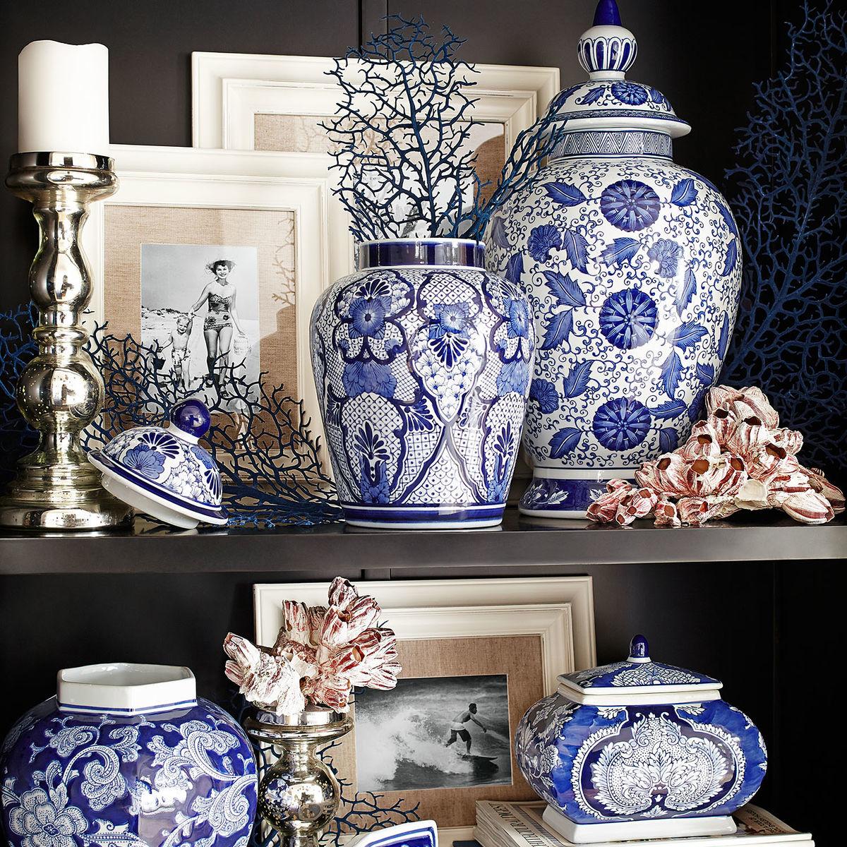 vignette design: Inspired By Blue And White Porcelain