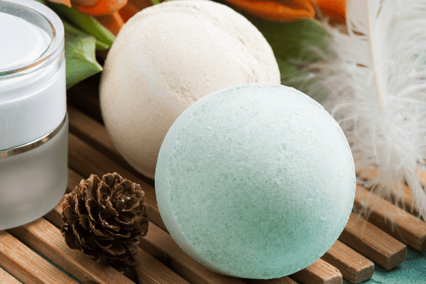 AvoBath Inspired Lush Bath Bomb recipe - make it with or without soap coloring to make your homemade bath bombs your desired color