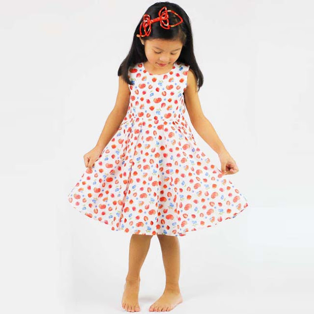 Stella Cove | Spring Summer Strawberry Party Dress | Chichi Mary