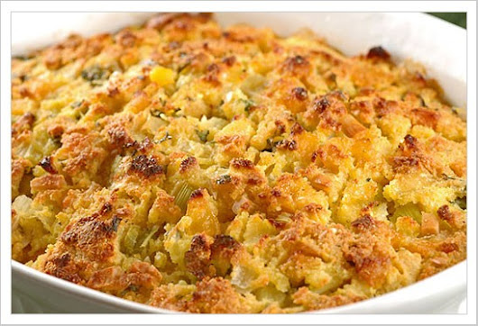 Grandma's Corn Bread Dressing