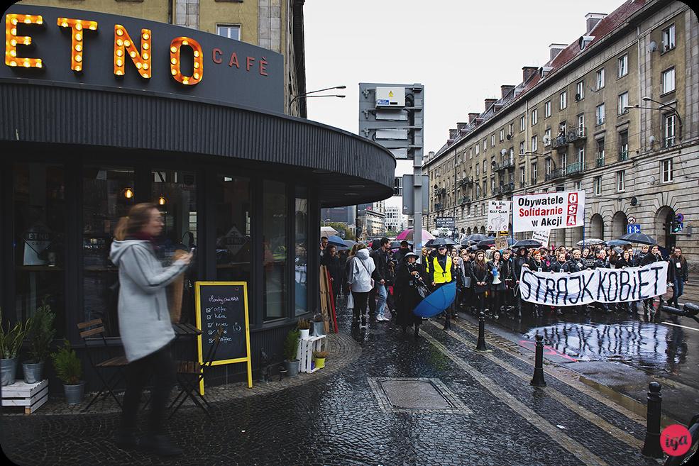 polish women go on strike wrocław