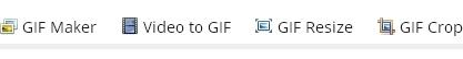 Aplicación en linea para editar, comprimir, recortar, optimizar Gifs animados
