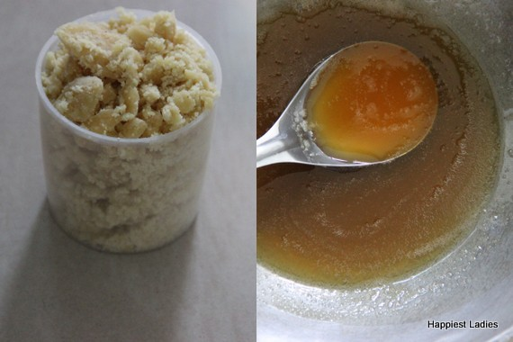 jaggery syrup consistency