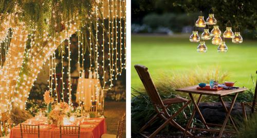 10 Backyard Lighting ideas