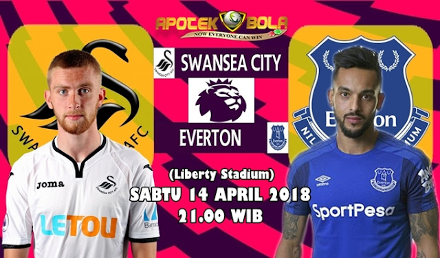 Prediksi Swansea City vs Everton 14 April 2018