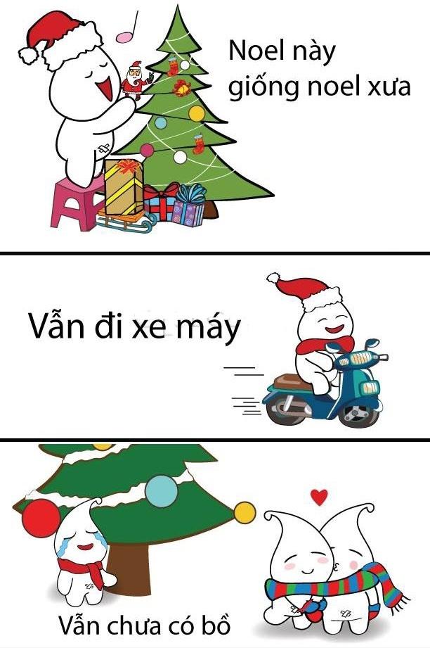 hình ảnh chế hài hước bá đạo shock nhất facebook mùa giáng sinh