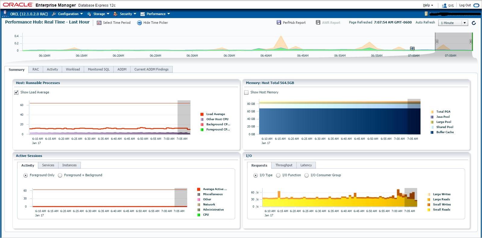 Netsoftmate Technical Blog : Oracle Enterprise Manager Database Express 12c - EM Express