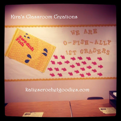 swedish fish bulletin board