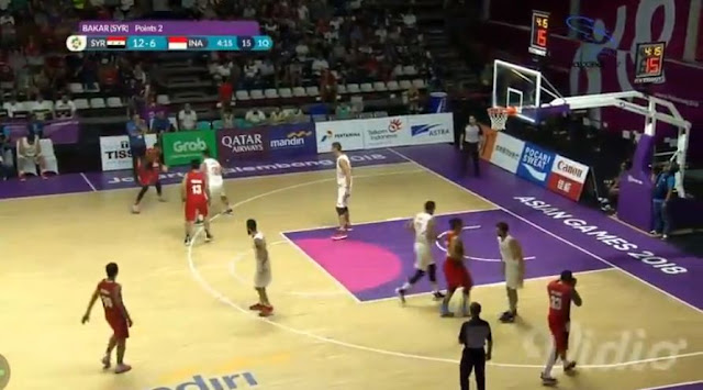 Live Streaming List: Indonesia vs Syria 2018 ASIAD Basketball Men
