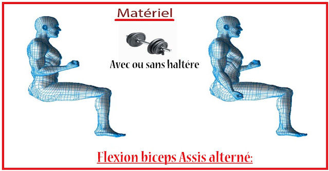 Flexion-biceps-assis-alternée
