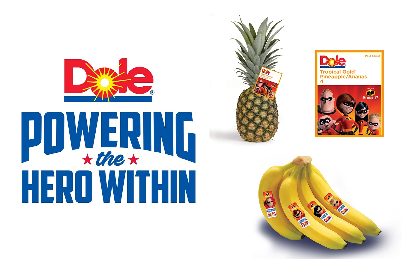disney dole incredibles 2 healthy eating