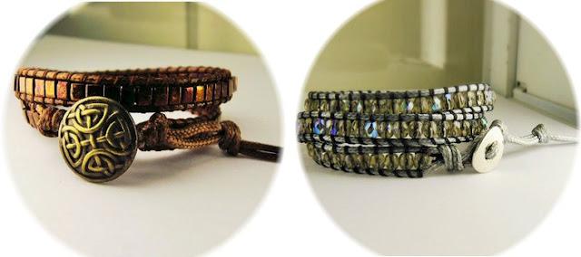 bracelet wrap fait main