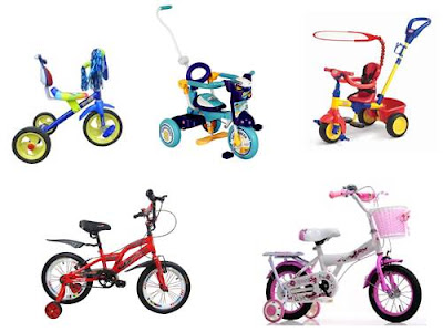harga sepeda anak family