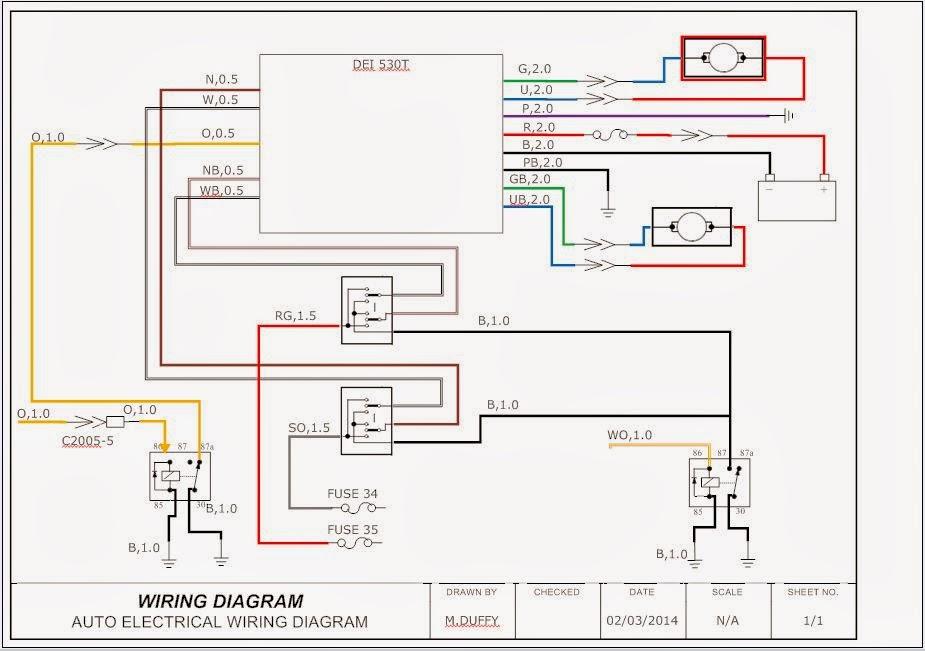 Modified Fuel Pump Relay Diagram Fuel Pump Relay Location Wiring
