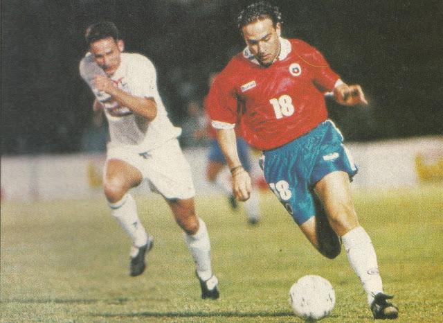 Chile y Nueva Zelanda en Copa Centenario del Fútbol Chileno, 16 de junio de 1995