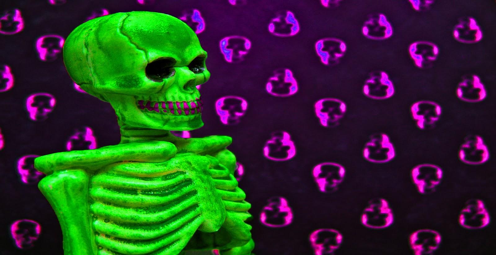 halloween skeleton wallpaper - photo #27