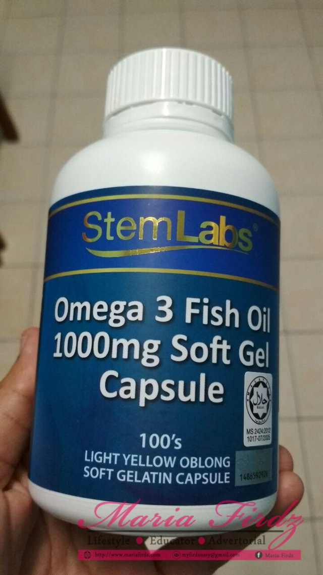 [REVIEW] StemLabs Omega 3 Fish Oil 1000mg