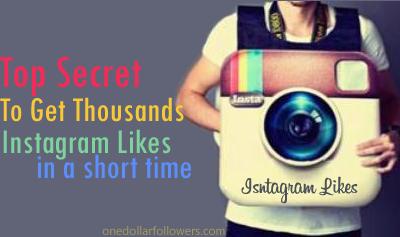 Buy Instagram Likes For $1