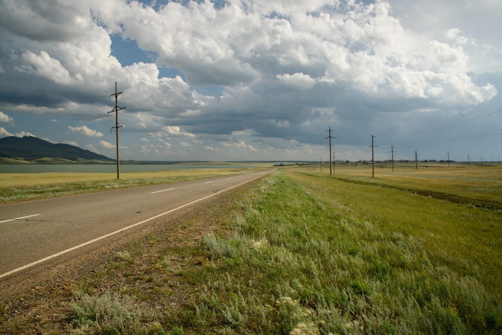 Обходная трасса из Борового в Щучинск