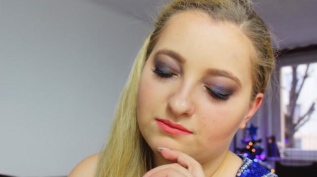 Mój makijaż świąteczny + życzenia dla Was!