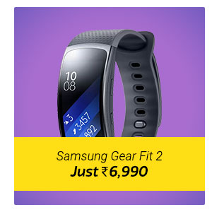 Samsung Gear Fit 2 at Rs. 6990