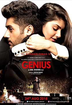 Genius 2018 Bollywood 300MB Movie HDRip 480p