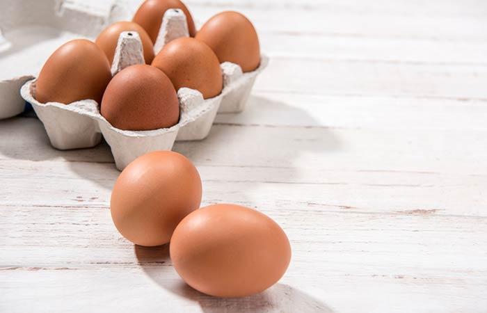 Hausgemachte Conditioner für lockiges Haar - Ei und Olive Haarspülung zu speichern