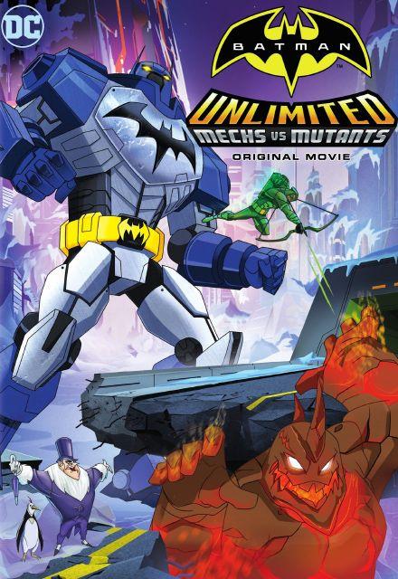 Baixar Batman Sem Limites Mechas vs. Mutantes RMVB Dublado DVDRip Torrent