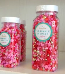 Candy sprinkles avilable at Decadent Creations in BEaverton, ORegon