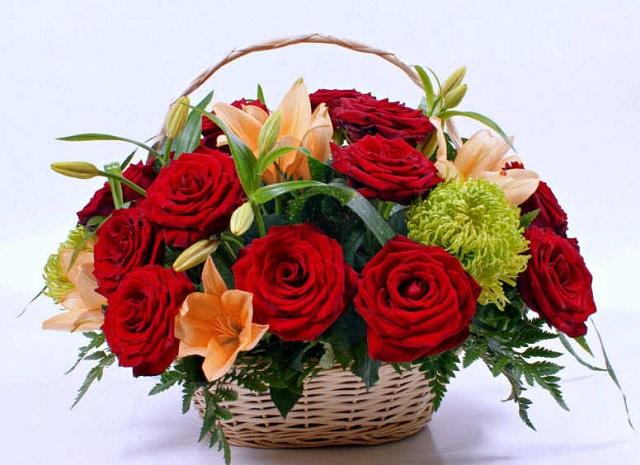 Bó hoa hồng đỏ đẹp nhất thế giới 5