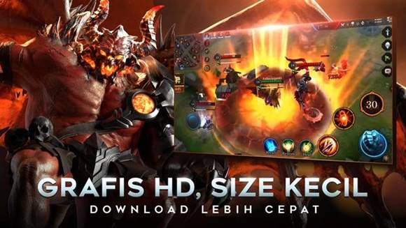 Free Download Garena Arena of Valor (AOV) v1.23.1.2 Mod Apk (Enemy Visible on MAP)