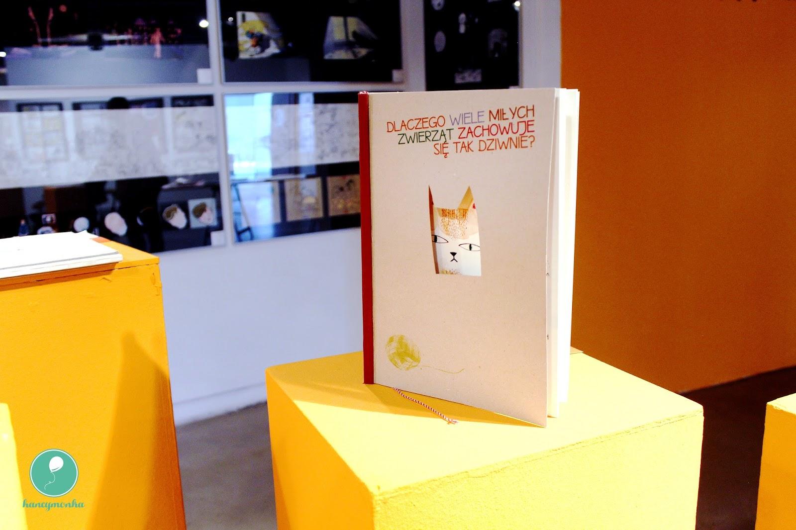 książka dobrze zaprojektowana zacznijmy od dzieci, Katowice, Rondo Sztuki, wystawa