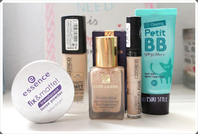 productos terminados maquillaje