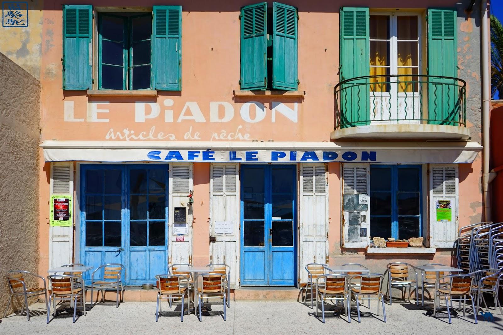 Le Chameau Bleu - Blog Voyage Var Brusc - Port du Brusc - Le Piadon - Var