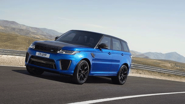 Range Rover SVR Review