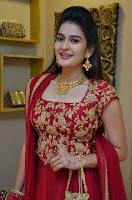 Jenny Honey in Stunning Dark Red Anarkali Dress at Splurge   Divalicious curtain raiser ~ Exclusive Celebrities Galleries 049.JPG