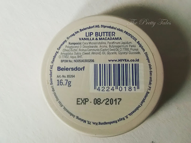 nivea lip butter vanilla macadamia review
