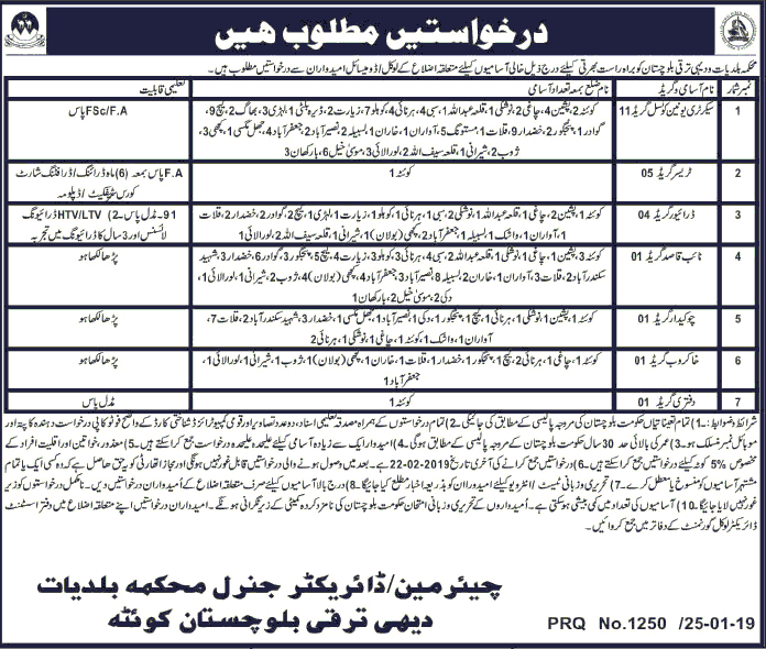 Governments jobs 2019