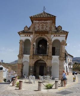 Antequera, Capilla-Tribuna de la Virgen del Socorro.