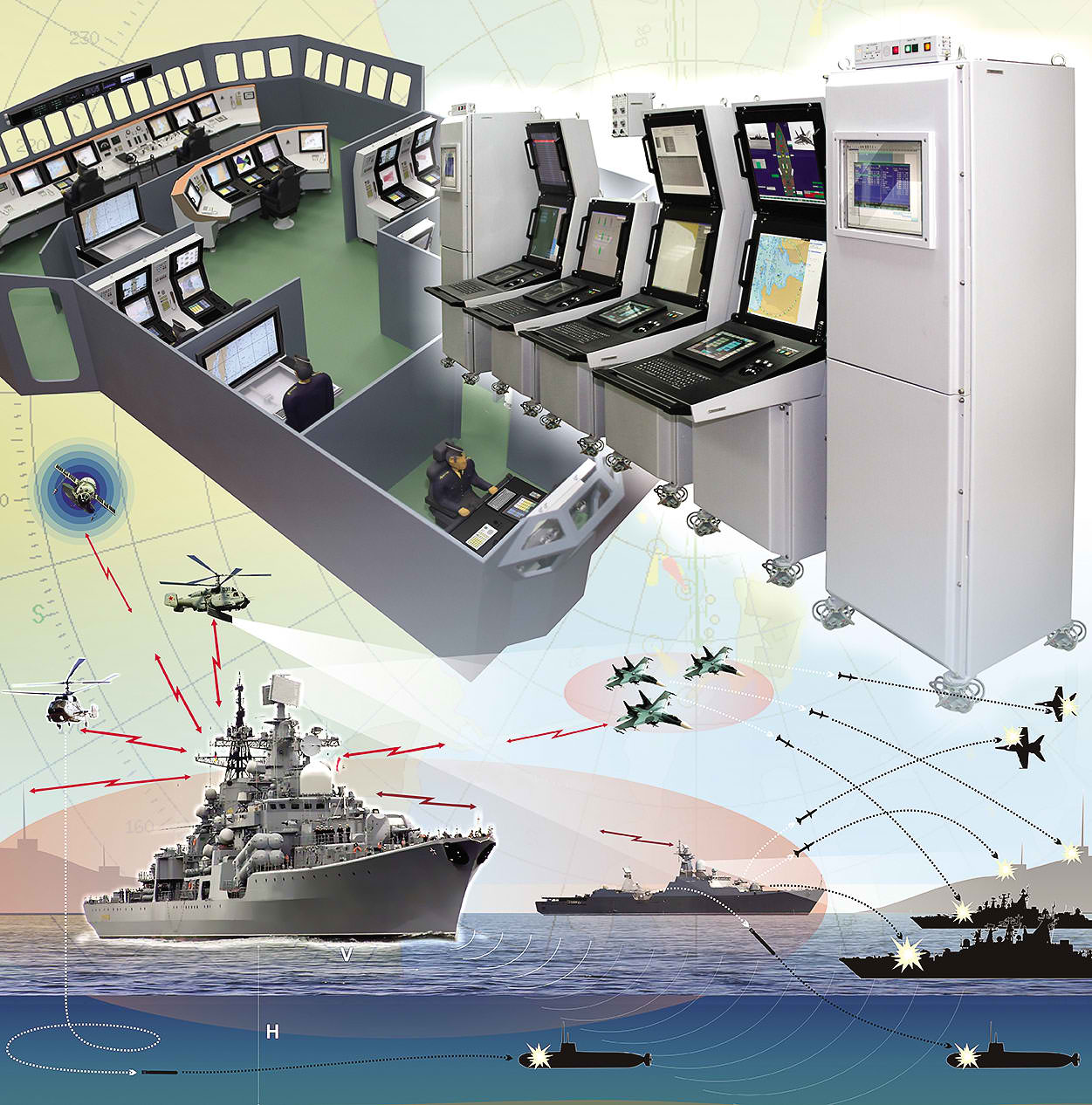 The Significance of Combat Management System in a Combat Ship With  Corresponding Obstacles ~ Pitz Defense Analysis
