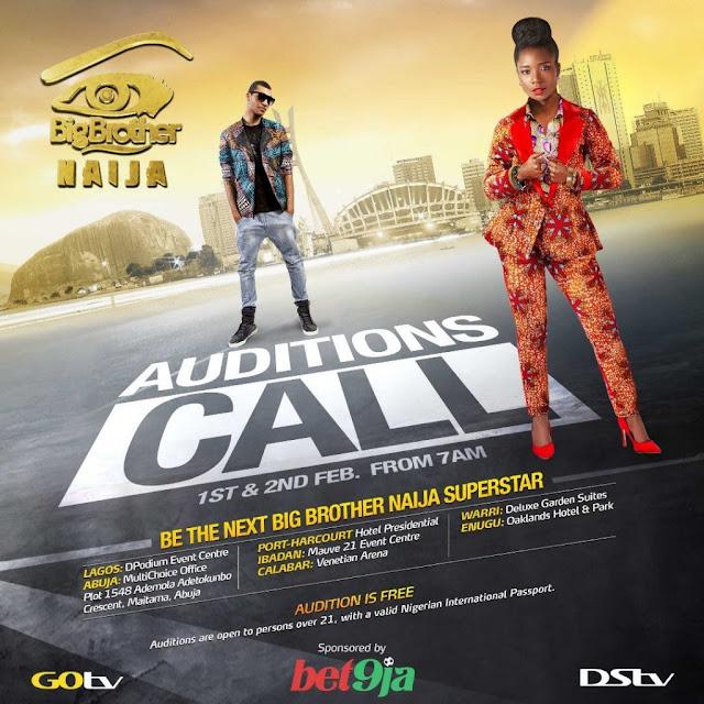 BBNaija 2019 - Apply For Big Brother Naija 2019 Audition